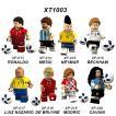 レゴ レゴブロック LEGO レゴミニフィグ サッカー選手8体 ボール付き 互換品 クリスマス プレゼント