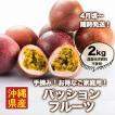 【お得なご家庭用】【2kg】手摘み!情熱パッションフルーツ※農薬化学肥料不使用