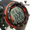 歩数計搭載 YOUNGS ヤンズ YP11562-01 デジタル腕時計
