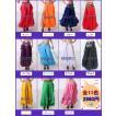 ベリーダンス シフォン スカート カスケード フレア 衣装 全11色