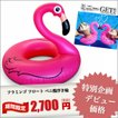 人気ビーチアイテム フラミンゴ フロート ベニ鶴 浮き輪 赤い鳥 float ukiwa アウトドア グッズ beach