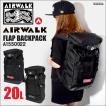リュック AIR WALK エアウォーク A1550022 デカリュック リュックサック マザーバッグ バックパック レディース メンズ