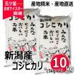 コシヒカリ 10kg ( 5kg ×2袋 ) 新潟県産コシヒカリ 平成30年産