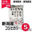 コシヒカリ 5kg 新潟県産コシヒカリ 送料無料 平成30年産