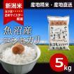 魚沼産コシヒカリ 5kg 平成30年産 新米