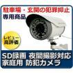 防犯カメラ  SDカード録画・動体検知機能つき 家庭用 屋外防犯カメラ IT-606
