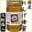 【国産蜂蜜 純粋ハチミツ】国産れんげ蜂蜜(500g)【送料無料】