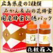 【送料無料】国産(広島県産)みかん蜂蜜&山の花蜂蜜・500g×2本お徳パック
