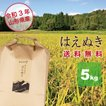 はえぬき 5kg 山形県産 30年産 精白米 送料無料(一部地域を除く)