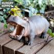 ペン立て カバ【HUNGRY HIPPO BROWN】ハングリー ヒポ ブラウン
