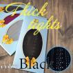 レディース カラフル シンプル タイツ  70デニール 厚手 伸縮 ストッキング BLACK