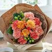 母の日 ギフト 花束 クランツブーケ 「オランジュフルール」 日比谷花壇