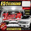 エルグランド E51 LEDルームランプ ゴージャスセット 車中泊 にも 日産