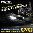 LED ヘッドライト D4S D2S 純正交換 LEDバルブ 2個1セット D4R D2R LEDヘッドライト 車検対応