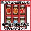 ご飯のお供 山菜 山里の味6本ギフトセット(国産)