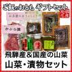 ご飯のお供 山菜・漬物ギフトセット(国産)