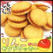りんごジャムサンド465g (155g×3個 チャック付袋入) 青森県産りんご・無香料・無着色ジャム使用 訳ありクッキー(無選別) お徳用 もったいない本舗