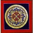 ドルジェ・センバ テルサル密教体系 手描き曼荼羅 Mn1501