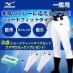 ミズノ 野球 練習用スペアパンツ メンズ レディース 2点セット ショートフィットタイプ ウタマロ石けん付き 12JD6F6701 MIZUNO