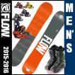 フロー(FLOW) スノーボード3点セット VERVE(ボード):ECHO M1 BOA(ブーツ):PR(ビンディング) VERVE 【15-16 2016モデル】