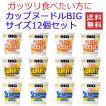 日清食品 カップヌードル big ビッグ 3柄×4個 12食セット 関東圏送料無料