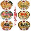 日清 麺ニッポン ご当地ラーメン 6柄 12食セット A 送料無料