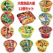 新着 大黒食品 大盛サイズ カップ麺 12個セット 関東圏送料無料
