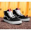 Vans x Peanuts ハイカット スニーカー シューズ 靴 Sk8-Hi Reissue Shoe Snoopy Bones(27cm)Black バンズ/ピーナッツ/スノーピー スケボー SKATE SK8