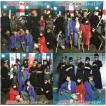 【HKT48】feat.氣志團  しぇからしか! 初回仕様盤(CD+DVD) TypeA・B・C+劇場盤(CD) 4枚セット 特典無し 未再生 中古品