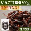 イナゴの佃煮 500g いなご 甘露煮 珍味 昆虫食 小えび 食感 送料無料