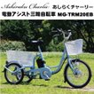 ミムゴ アシらくチャーリー 電動アシスト三輪自転車 MG-TRM20EB