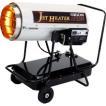 ジェットヒーター 業務用暖房器 HPE250 可搬式 温風機...