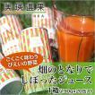 美瑛選果 畑のとなりでしぼったジュース(野菜ジュース)1箱 (20缶入り)