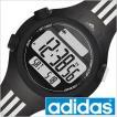 adidas Performance 時計 腕時計 アディダス パフォーマンス 時計 クエストラ ミッド QUESTRA MID メンズ レディース グレー ADP6085