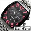 エンジェルクローバー 腕時計 ダブルプレイ 時計 ブラック DP38BBP セール