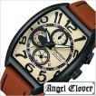 エンジェル クローバー 腕時計 Angel Clover ダブル プレイ DP38BSB-LB メンズ セール