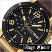 エンジェル クローバー 腕時計 Angel Clover 時計 エクスベンチャー クロノグラフ EVC46YBK-BW メンズ