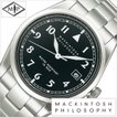 マッキントッシュフィロソフィー腕時計 MACKINTOSH PHILOSOPHY 腕時計 マッキントッシュ フィロソフィー 時計 メンズ腕時計/ブラック/FBZT984 セール