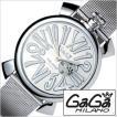 ガガミラノ 腕時計 GaGaMILANO スリム 46MM アッチャイオ メンズ時計GG-5080.3 セール