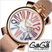 ガガミラノ 腕時計 GaGaMILANO スリム 46MM プラカット オロ メンズ時計GG-5081.1 セール