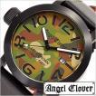 エンジェル クローバー 腕時計 Angel Clover レフトクラウン LEFT CROWN LC45BCM-BK メンズ セール