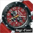エンジェルクローバー腕時計 AngelClover時計 AngelClover 腕時計 エンジェルクローバー 時計 エイト スター 8GHT STAR メンズ/レッド/NES46SRE-LEATHER セール