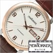 ニューヨーカー 腕時計 NEW YORKER トラッドマン NY002-01 メンズ セール