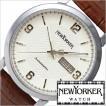 ニューヨーカー 腕時計 NEW YORKER トラッドマン NY002-02 メンズ セール