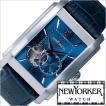 ニューヨーカー 腕時計 NEW YORKER ビルスクエア NY004-05 メンズ セール