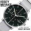 イッセイミヤケ 腕時計 ISSEY MIYAKE 時計 岩崎 一郎 シィ ICHIRO IWASAKI 「C」 メンズ 腕時計 ブラック NYAD005