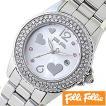 フォリフォリ 腕時計 FolliFollie フライングハーツ Flying Hearts レディース WF9A049BTS セール