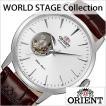 オリエント 腕時計 ORIENT 時計 ワールドステージコレクション オートマチック セミスケルトン WV0521DB メンズ