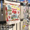 Old Map Cloth オールド マップ クロス キッチンクロス テーブルマット タペストリー ビンテージ柄 インストゥルメンタル Jitta