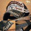 Buffalo skull メッシュキャツプ メンズ 野球帽 帽子 新品 7683-910 Destroyed【GAZ】■05170218